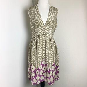 Anna Sui for Anthropologie Botanical print  Dress